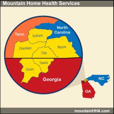 Home health care in Macon County, Franklin, North Carolina