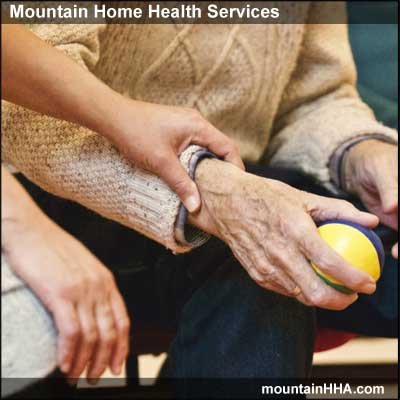 Mountain Home Health Services provideds physical therapy services.